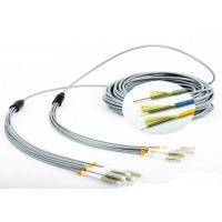China FO Sensor 6 Core Multimode Fiber Optic Cable , Gray LC - LC Fiber Optic Armored Cable on sale