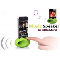 China Promotional 2 In 1 Egg Shape Silicone Gift Speaker For Phone , Good Looking on sale