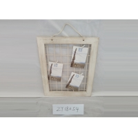 White Eco Friendly Wooden Rope Album Picture Frames