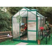 small and exquisite alu greenhouse without spring clips