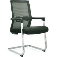 China Stationary Black Mesh Office Chair No Wheels For Conference Room Customized wholesale