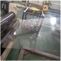 China Transparent APET Films rolls Food Grade Silicone Coating Clear 1mm PET Plastic Sheet Roll on sale