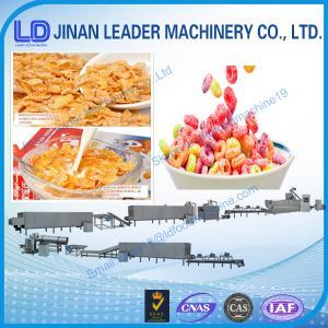 China Cornflake Breakfast Cereal Machine on sale