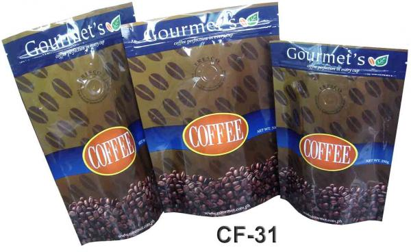 Quality 100 micron Customized Plastic Bag Packaging PET / AL / PE For Coffee / Tea for sale