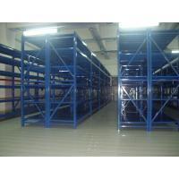 China blue metal shelves Anti - rust medium duty shelving with spray paint finished on sale