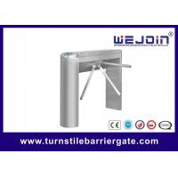 China Durable Turnstile Access Control Security Systems Automatic Both Way Rotating Direction wholesale