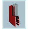China Metal Silver Aluminium Window Frame Profiles , Aluminium Profile For Glass Custom Made wholesale