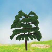China MODEL TREE with leaf Plastic GREEN TREE,FGT16 H:35-95MM wholesale
