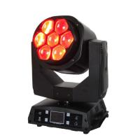 Buy cheap Wincode LED Small Bee Eye 7x15W RGBW 4 in 1 Wash Beam Moving Head LED Light from wholesalers