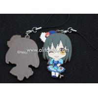 China Japanese anime pvc rubber pendants custom for phone bag keychains wholesale
