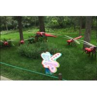 China Various Outdoor Parks 1 / 1 Animatronic Insects Handmade Manual Operation wholesale