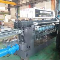 China High Efficiency Glass Straight Line Beveling Machine Double Glazing Equipment on sale