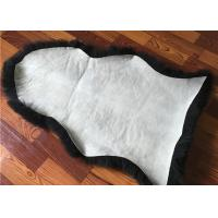 Single Pelt Natural Color Australian Sheepskin Rug For Car Seat Covers