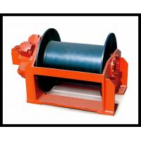 China custom built 1-100 ton hydraulic powered ladder winch dredger winch on sale
