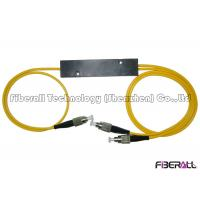 China divisor do PLC da fibra ótica 1x2 com o mini conector da fibra cabografam encaixotam do ABS/3.0mm/FC wholesale
