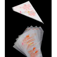 China Disposable HDPE/LDPE cake decorating piping bag wholesale