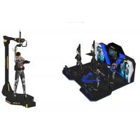 China Multiplayer 4 Virtual Reality Arcade Games Machine / VR Standing Platform wholesale