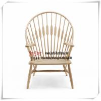 China Hotel Lobby Lounge Seating chair by white Ash wood and natural Rope cushion on sale
