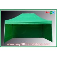 China Professional Folding Tent 210D Oxford Cloth With 3 Sidewalls Fire-proof on sale
