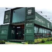 China Modular Shipping Container Restaurant Prefabricated Container Coffee Shop Interior Design wholesale