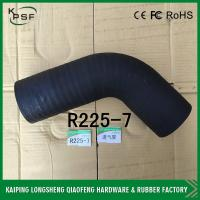 China Oil resistant R225-7 Hyundai Excavator air hose fittings / hardware accessories wholesale