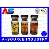 China Clear Steroid Bottle Labels wholesale