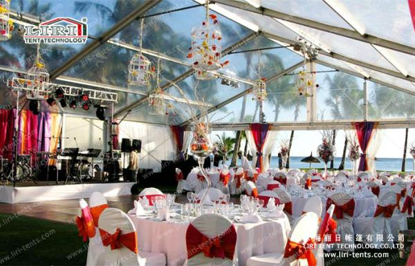 Quality Big Clear Top Tent for Wedding Party and All Events for sale