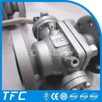 China A216 WCB trunnion mounted ball valve wholesale