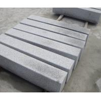 China China Cheapst Grey G341 Granite Hammered Finished Kerbstone G341 Granite Tile,Paving,Cube & Kerbstone wholesale