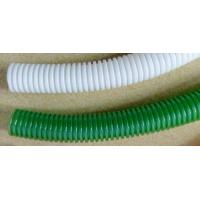 China Flame Retardant Corrugated Pvc Tubing Electric Cable Protection on sale