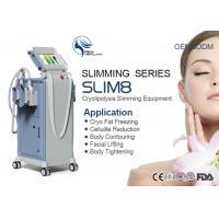 Anti - Puffiness Slimming Cryolipolysis Machine 4 Handles Cellulite Removal Machine