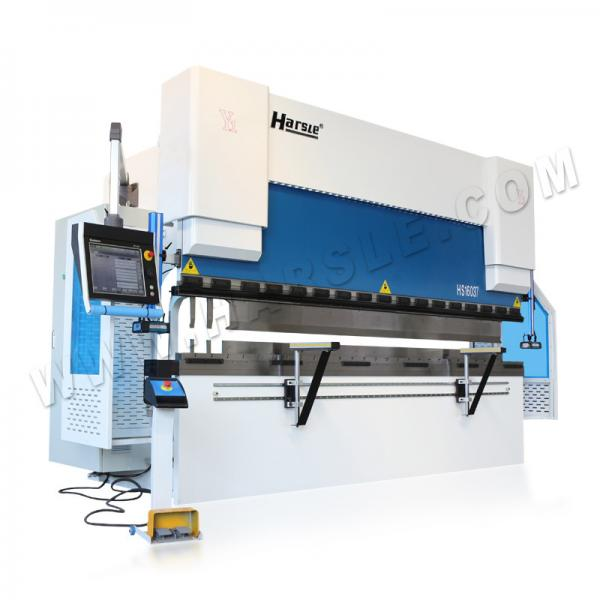 Quality HARSLE brand CNC electric hydraulic customized metal sheet press brake with DA66T system for sale