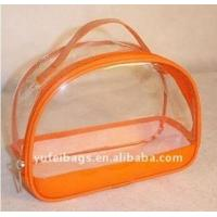 China 2011 clear pvc promotional cosmetic bag wholesale