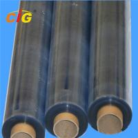 China Flexible Clear PVC Transparent Film , Stretch Protective Plastic Film Roll wholesale