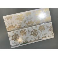 China Hot Stamping Decorative PVC Panels With Persistent Material Long Using Life wholesale