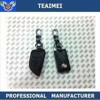 China Popular Personalised Genuine Leather Car Key Shell Case For Cadillac wholesale