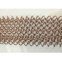 China Width 1m Length 2m Stainless Steel Woven Mesh For Office Building wholesale