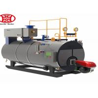 China Automatic Wns Fire Tube Diesel Oil Natural Gas Fired Steam Boiler Industrial Use wholesale