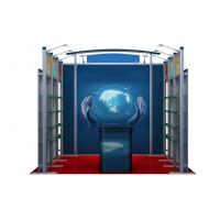 Custom Portable Aluminum Booth , 10ft 3 x 3 Chemical Exhibition Booth Displays