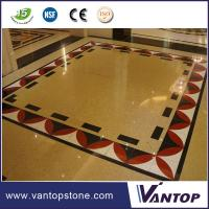 China Cheap Red Black Brown Cream White Blue Beige Quartz Kitchen Floor Tiles on sale