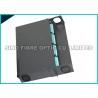 """China 19"""" 144 dos núcleos preto do painel de remendo 1U do LC da fibra ultra HD para o sistema ótico paralelo wholesale"""