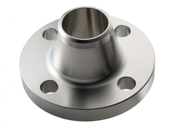Quality Forged WN Stainless Steel Weld Neck Flange , Stainless Steel Threaded Flange for sale