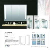 China Recessed Medicine Aluminum LED Mirror Cabinet Mail Box Packing on sale