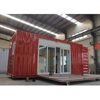 China Modified Shipping Container House With Electrical Platform Wind Resistance wholesale