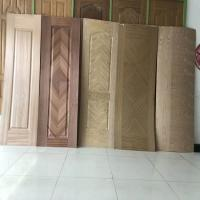 China Wood Grain MDF Door Skin , Interior Door Skins With Different Designs on sale