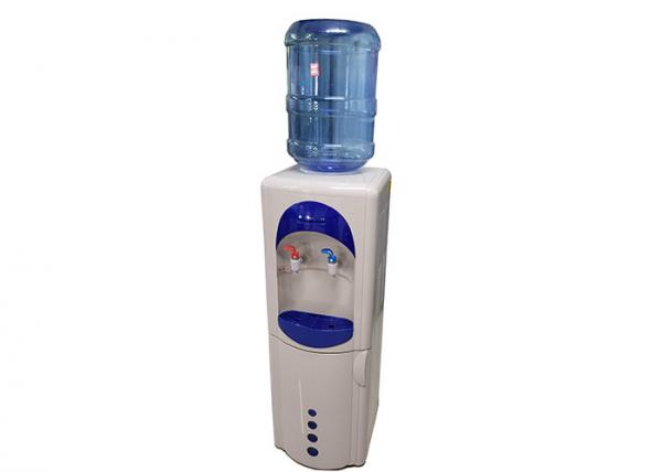 Quality 16LD-C/HL Electric Cooling Hot and Cold Water Dispenser  for home White and Blue with 16 liter Storage Cabinet for sale