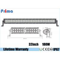 "China 32"" 180 Watt Cree LED Car Light Bar Flood / Combo / Spot Beam Angle wholesale"