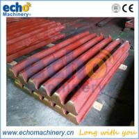China jaw crusher casting parts jaw plate,jaw liner for quarry,mining,rocks primary crushing wholesale