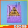 China El transporte médico/del laboratorio del espécimen empaqueta que se puede volver a sellar plástico con la bolsa del documento wholesale