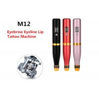 Spiral Lip Eyelines Permanent Makeup Tattoo Machine With Built In Battery